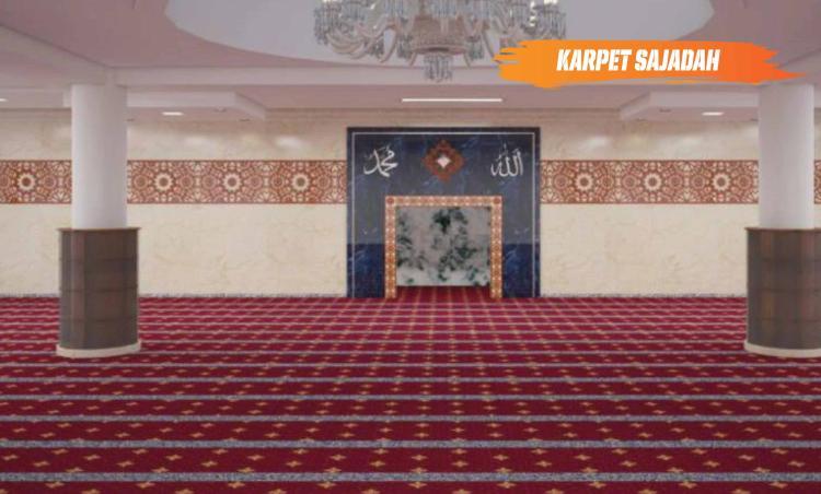 Gambar banner Tiap Shaf Mengalirkan Pahala Abadi Melalui Wakaf Karpet Sajadah