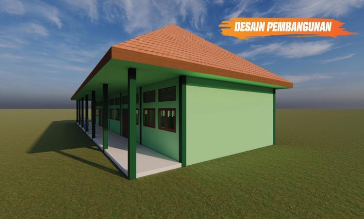 Gambar banner Pembangunan Ruang Kelas SMPIT Al-Qalam Cianjur