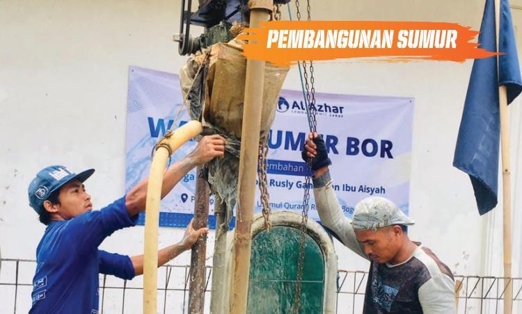 Gambar banner Sumur Bor Untuk Daerah Kekeringan