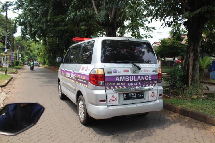 Gambar banner Patungan Ambulance Gratis untuk Yatim dan Duhafa