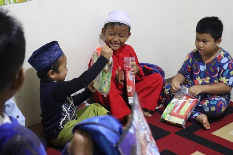 Gambar banner Bantu Penuhi Nutrisi Yatim dan Dhuafa