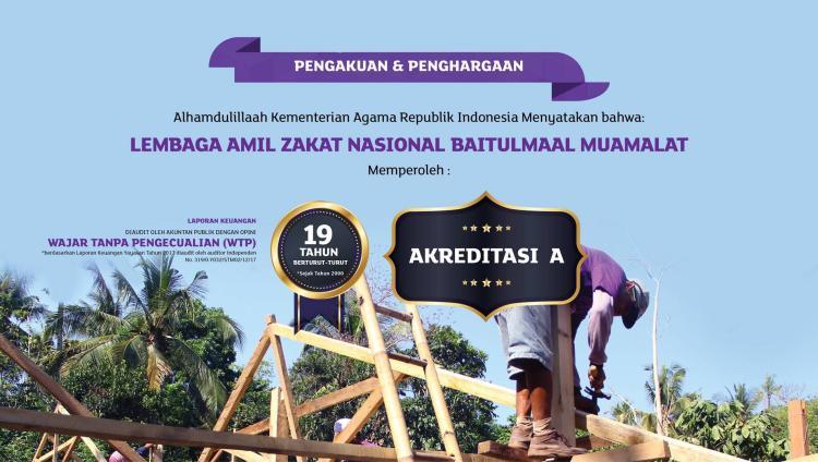 Gambar banner ZAKAT MENYELAMATKAN SESAMA