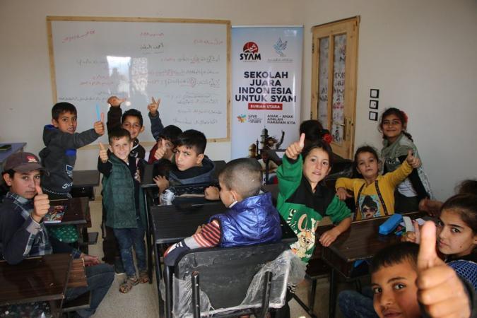 Gambar banner Save Children of Sham