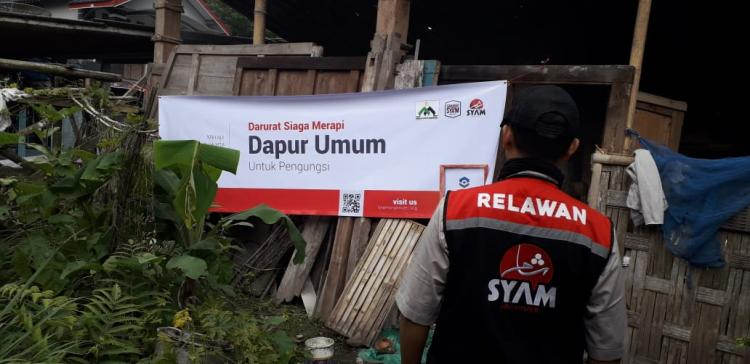 Gambar banner POSKO DARURAT BENCANA SIAGA MERAPI SYAM ORGANIZER