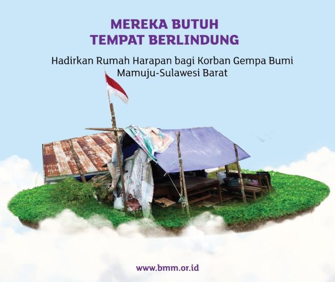 Gambar banner Miris, Ribuan Warga Mamuju Tinggal di Tenda Tak Layak